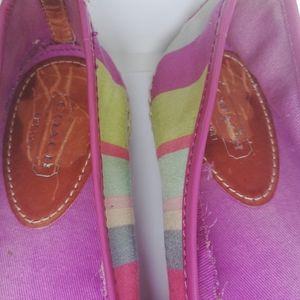 Coach Shoes - COACH Royce Hamptons Weekend Multi Striped Shoes